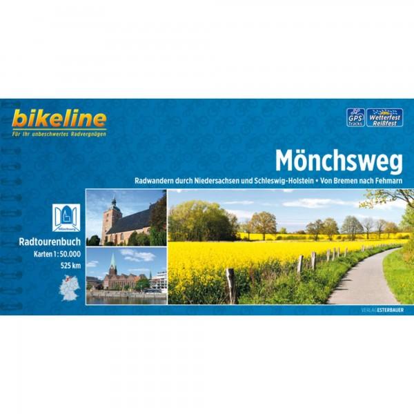 Bikeline - Radtourenbuch Mönchsweg