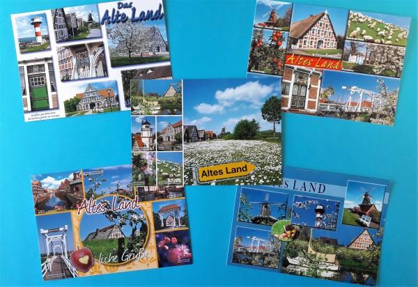 "Postkarten Set ""Altes Land"""