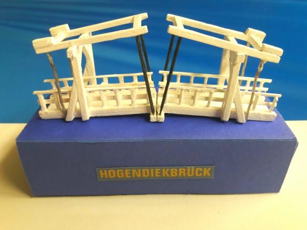 Hogendiekbrücke Modell