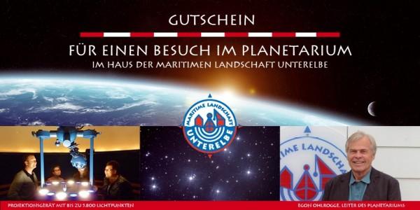 Gutschein Planetarium