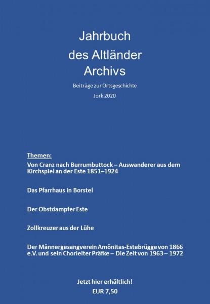 Jahrbuch des Altländer Archivs