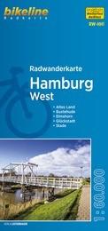 Bikeline Radwanderkarte Hamburg-West