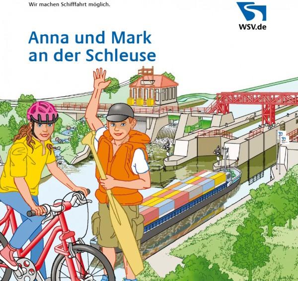 Anna und Mark an der Schleuse