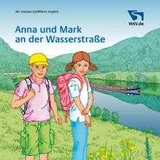 Anna und Mark an der Wasserstraße