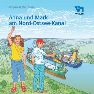 Anna und Mark am Nord-Ostsee-Kanal