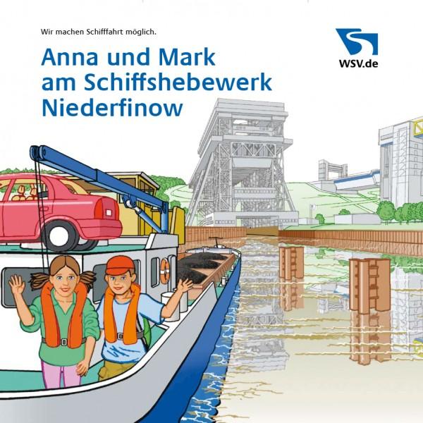 Anna und Mark am Schiffshebewerk Niederfinow