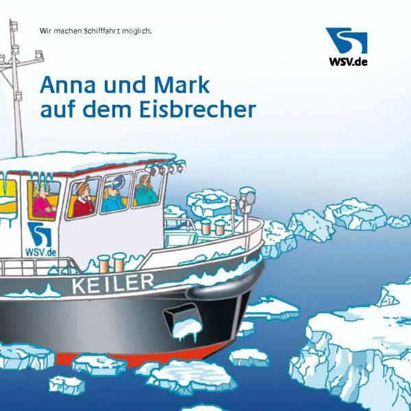 Anna und Mark auf dem Eisbrecher